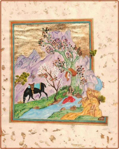 calligraphie tableau mandlay