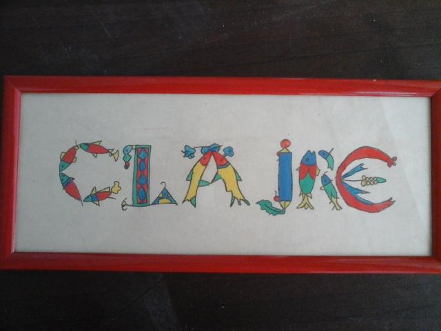 Claire-lettres celtiques