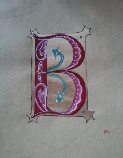 Alain - lettre B roman