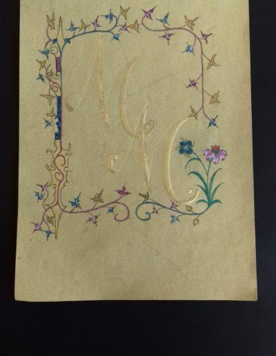 Martine lettre M roman
